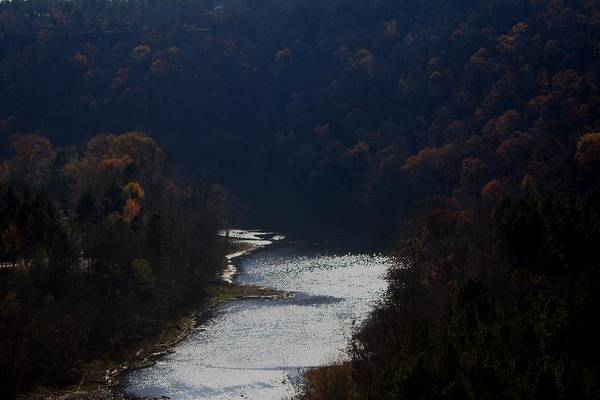 Landscape Art Print featuring the photograph Little Red River by Lisa Johnston