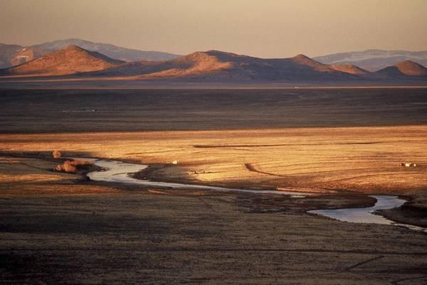 Landscape Art Print featuring the photograph Rio Grande Evening by Lynard Stroud