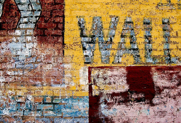 Brick Wall Art Print featuring the photograph Wall by Curtis Staiger