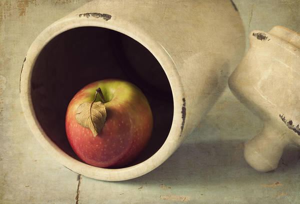 Apple Print featuring the photograph An Apple A Day... by Amy Weiss