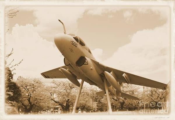 Atsugi Art Print featuring the photograph Atsugi Prowler F by Jay Mann