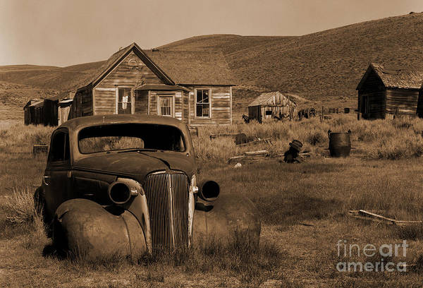 Car Art Print featuring the photograph Bodie  #72986 by J L Woody Wooden