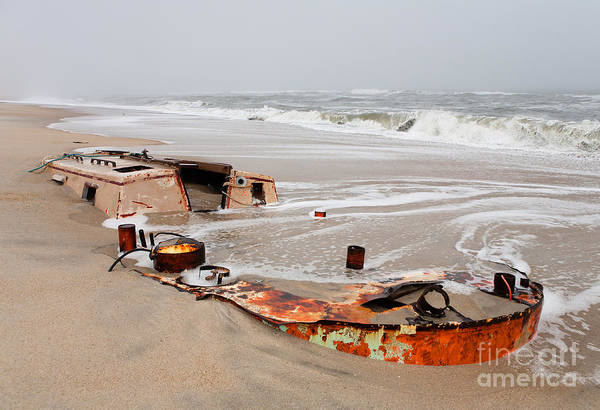 Outer Banks Art Print featuring the photograph Buried Treasure On The Outer Banks I by Dan Carmichael