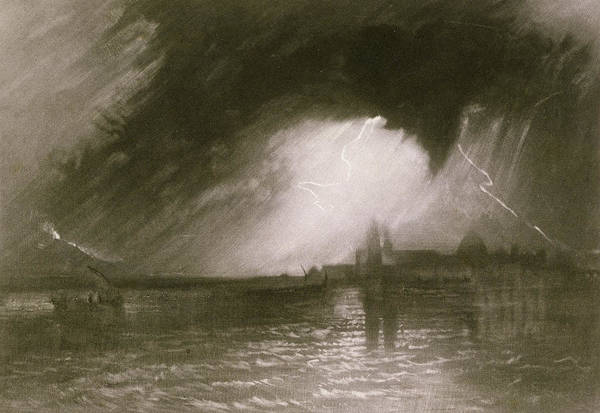 Turner Art Print featuring the painting Castania Sicily by Joseph Mallord William Turner