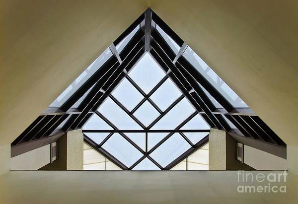 Directional Art Print featuring the photograph Directional Symmetry by Charles Dobbs