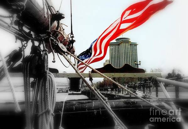 Nola Art Print featuring the photograph Freedom Sails by Michael Hoard