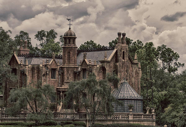 Nick Art Print featuring the photograph Haunted Mansion by Nicholas Evans