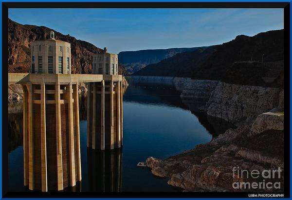 Lake Mead Art Print featuring the photograph Lake Mead by Matthew Heller
