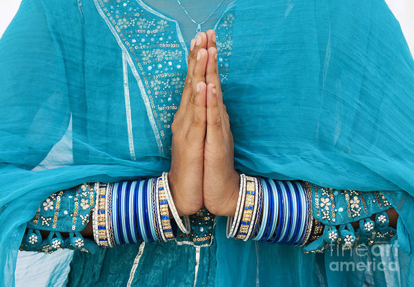 Namaste Art Print featuring the photograph Namaskar by Tim Gainey