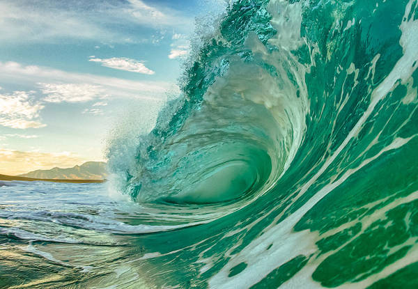 Surf Art Print featuring the photograph North Shore Mornings by Gregg Daniels