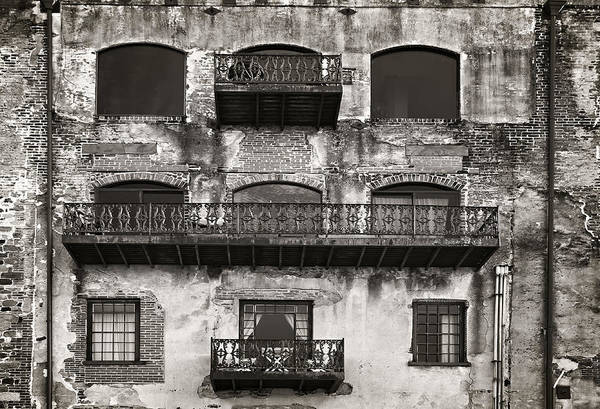 Sepia Print featuring the photograph Old Savannah by Mario Celzner