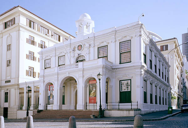 Cape Town Art Print featuring the photograph Old Town House by Shaun Higson