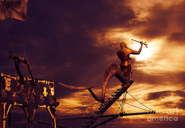 Pirate Art Print featuring the photograph Pirate Ship by Jelena Jovanovic