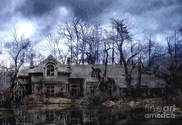 Deserted Art Print featuring the photograph Plunkett Mansion by Tom Straub