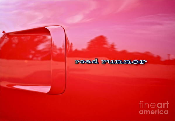 Car Art Print featuring the photograph Roadrunner by Linda Bianic