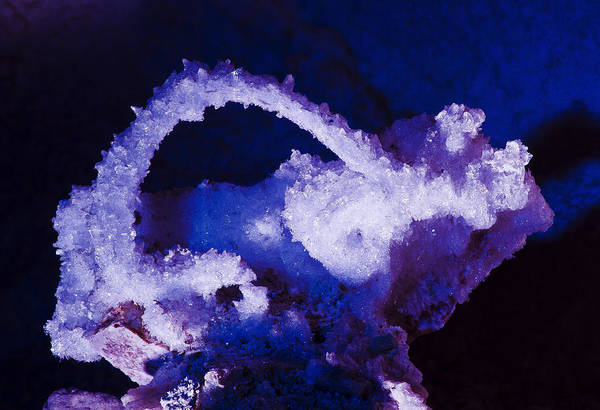 Grand Canyon Caverns Art Print featuring the photograph Selenite Crystal by Kenan Sipilovic