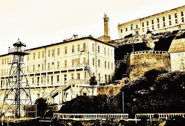 Alcatraz Art Print featuring the photograph The Rock by Benjamin Yeager