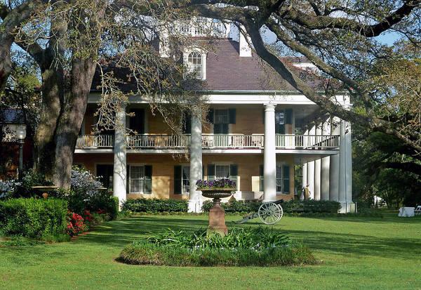 Louisiana Art Print featuring the photograph Houmas House by Helen Haw