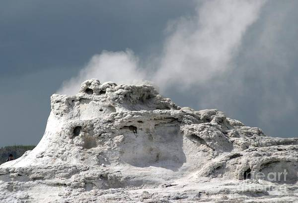Geyser Art Print featuring the photograph A Beautiful Geyser by Living Color Photography Lorraine Lynch