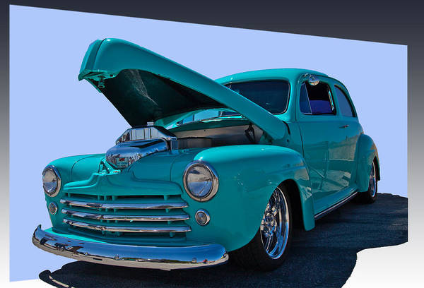 Car Art Print featuring the photograph Baby Blue by Dennis Hofelich