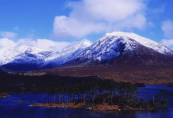 Co Galway Art Print featuring the photograph Derryclare Lough, Twelve Bens by The Irish Image Collection