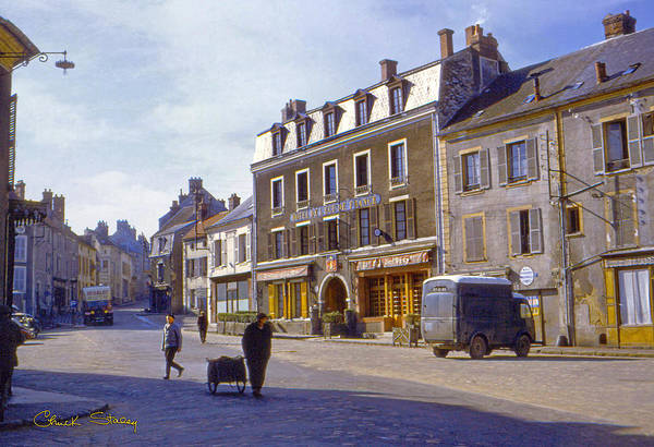 France Art Print featuring the photograph French Village by Chuck Staley