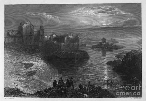 1840 Art Print featuring the photograph Ireland: Ballyshannon by Granger