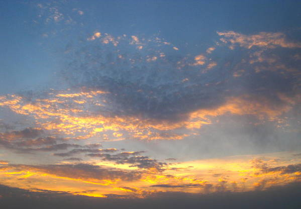 Sunset Art Print featuring the photograph Max Parrish Sky by Teresa Rogers