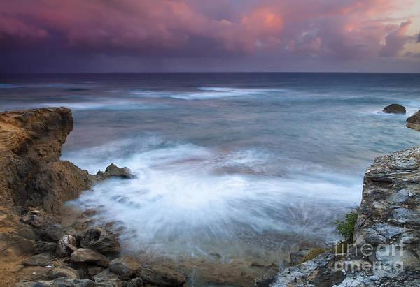 Kauai Art Print featuring the photograph Pastel Storm by Mike Dawson