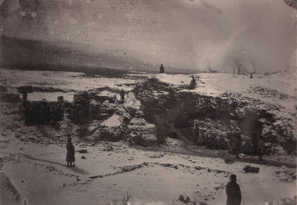1880s Art Print featuring the photograph Siberia, Prison Guards Surrounding by Everett