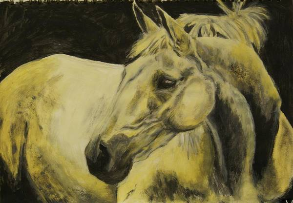 Landscape Art Print featuring the painting The Old School Master by Belinda Wroe