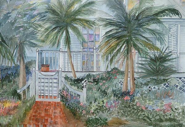 Doors And Windows Art Print featuring the painting Usepa Gate by Heidi Patricio-Nadon