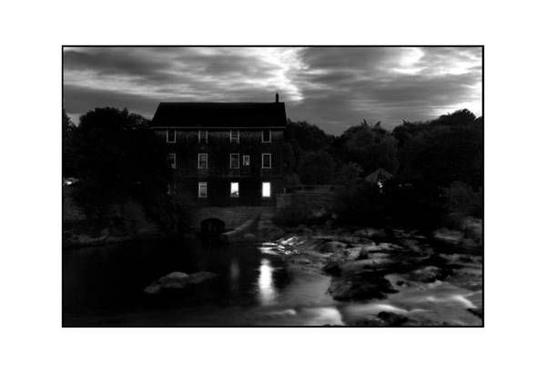 Landscape Art Print featuring the photograph Old Mill by Filipe N Marques