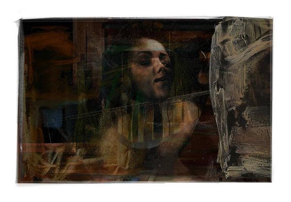 Portrait Art Print featuring the digital art Bust by Nuff