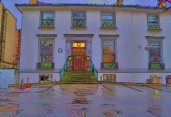 Abbey Road Studios Art Print featuring the photograph Abbey Road Recording Studios by Chris Thaxter