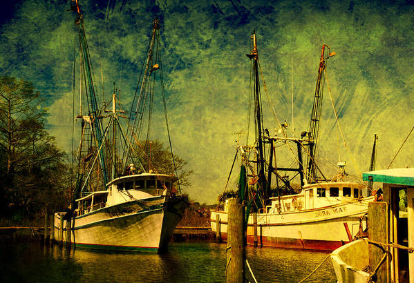 Harbor Art Print featuring the photograph Back Home In The Harbor by Susanne Van Hulst