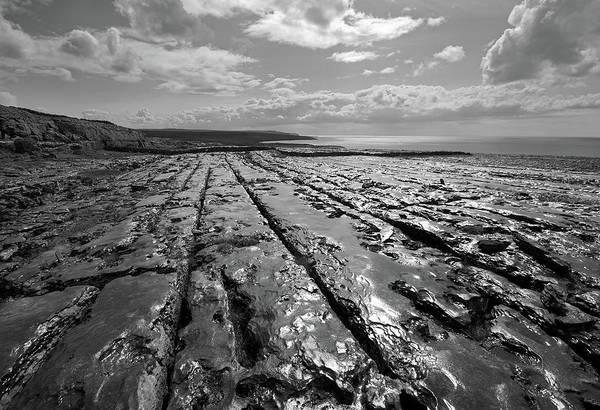 Burren Art Print featuring the photograph Burren Limestone Landscape In Ireland by Pierre Leclerc Photography