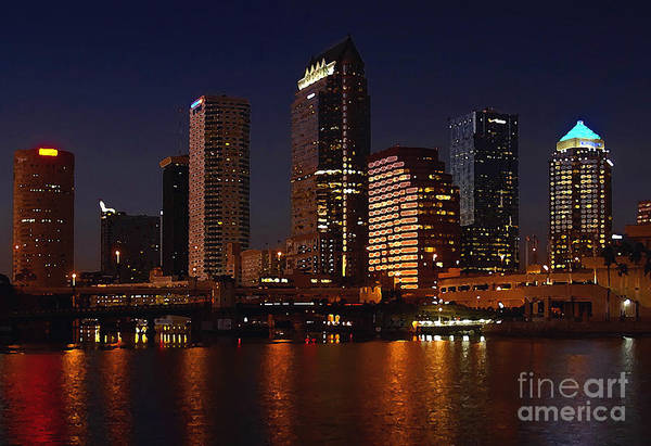 Tampa Florida Art Print featuring the photograph Cigar City by David Lee Thompson