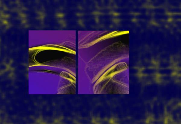 Abstract Art Print featuring the digital art Cobra by Steve Karol