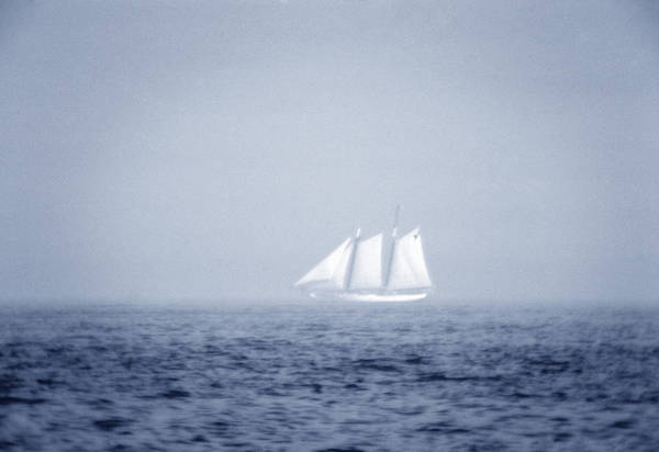 Sailing Art Print featuring the photograph Ghost Ship by Frank Mari