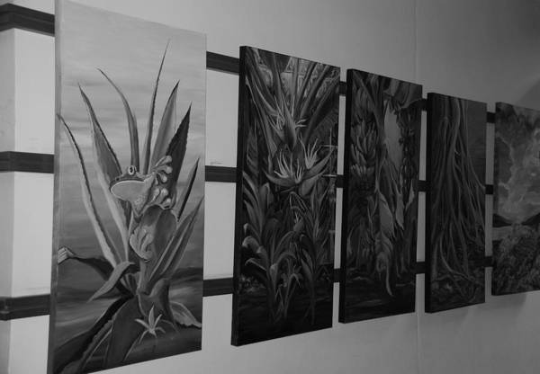 Black And White Art Print featuring the photograph Hanging Art by Rob Hans