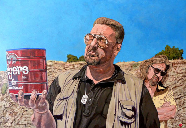 Walter Art Print featuring the painting He Was One Of Us by Tom Roderick