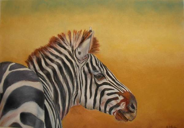 Africa Art Print featuring the painting Hello Africa by Ceci Watson