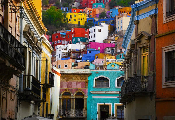 Architecture Art Print featuring the photograph Juegos In Guanajuato by Skip Hunt