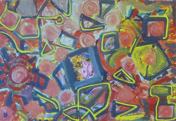 Paintings Art Print featuring the painting Junco Partner by Bryan Zingmark