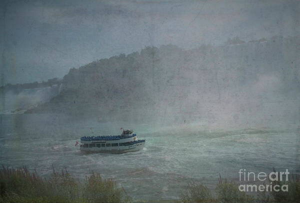Maid Of The Mist Art Print featuring the photograph Maid Of The Mist by Luther Fine Art