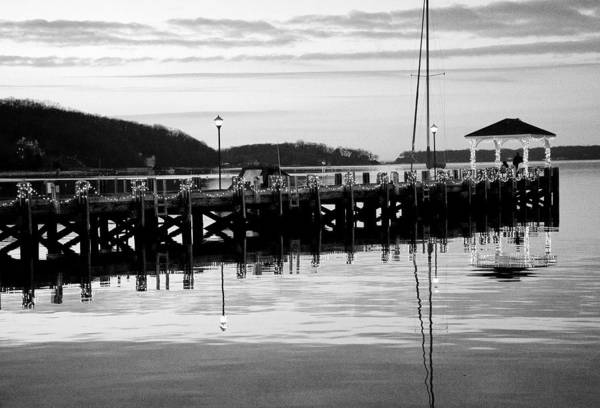 Dock Art Print featuring the photograph Northport Dock by Jeff Singer