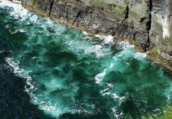 Irish Art Print featuring the photograph Nowhere To Go Cliffs Of Moher Ireland by Teresa Mucha