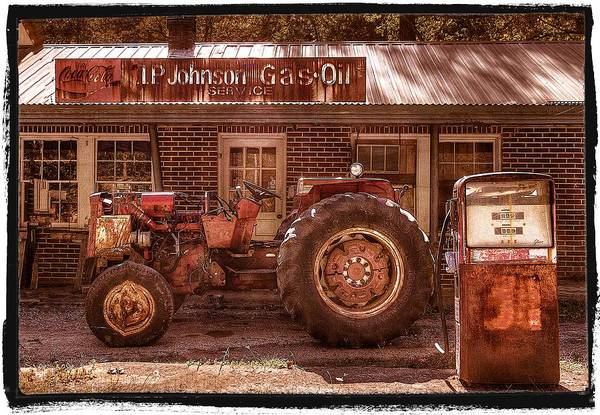 Appalachia Print featuring the photograph Old Days Vintage by Debra and Dave Vanderlaan