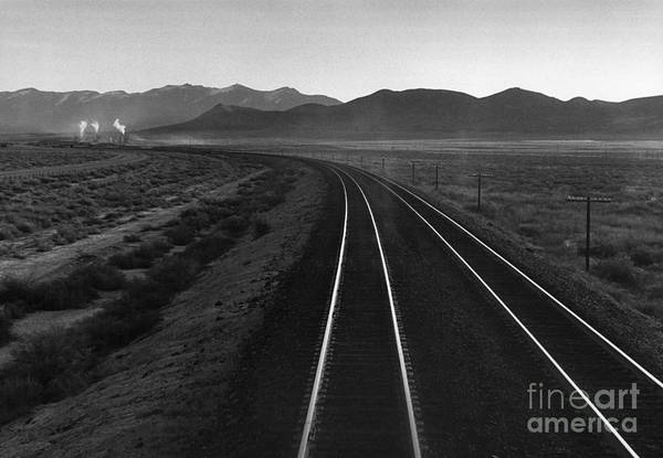 Rail Road Art Print featuring the photograph Railroad Lines by Arvind Garg